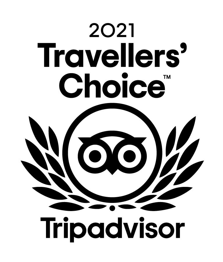 2021 Tripadvisor Travellers' Choice Award Logo